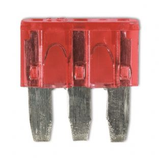 Connect 30707 Micro 3 Blade Fuse 10 amp Pk 25